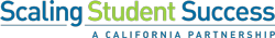 Logo Scaling Student Success a California Partnership